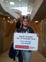 Hussein Sari-Kahia,fra Ørestad gymnasium.