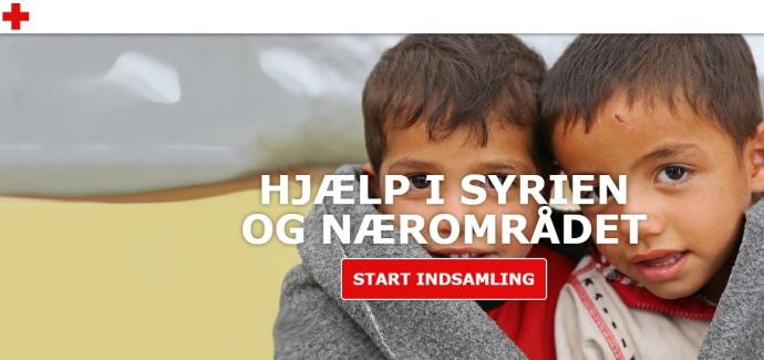 Røde Kors online indsamling