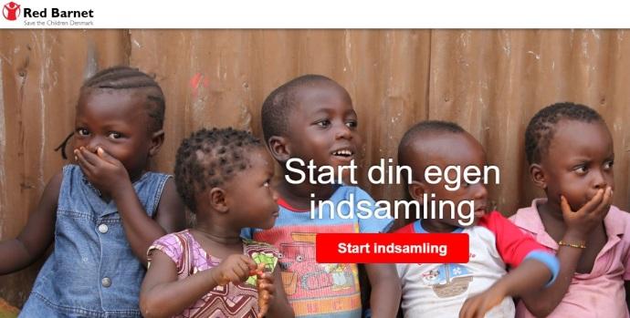 Red Barnet online indsamling