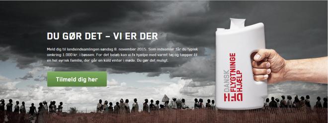 Tilmeld dig Dansk Flygtningehjælps Landsindsamling